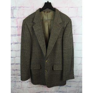Nordstrom Jacket Blazer Brown Tan 100% Camel Hair